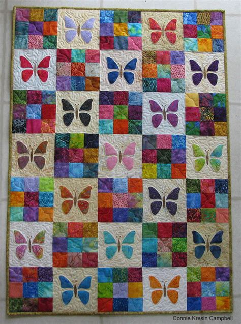 Make A Baby Quilt by Scrappy Butterfly Baby Quilt Tutorial Favequilts