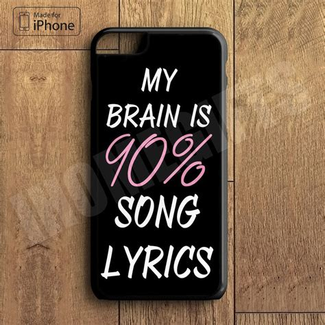 iphone    cool brain song  cute funny quote phone case  iphone    iphone