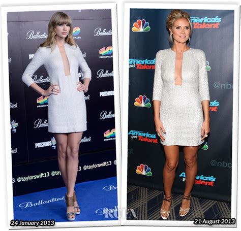 Who Wore Better Carpet Style Awards by Who Wore Kaufmanfranco Better Or Heidi Klum