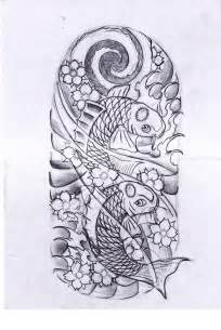 Half Sleeve Koi Fish Tattoo Designs » Home Design 2017