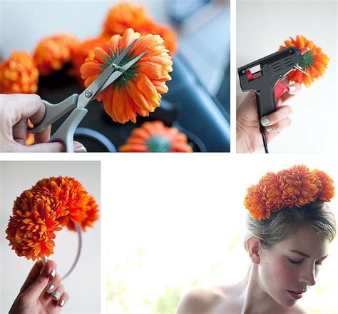 how to make hair jewelry how to make hair accessories for fresh flowers diy