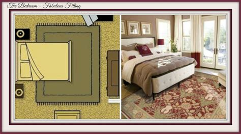 rug king bed a designer s guide to fitting an area rug s carpets interiors