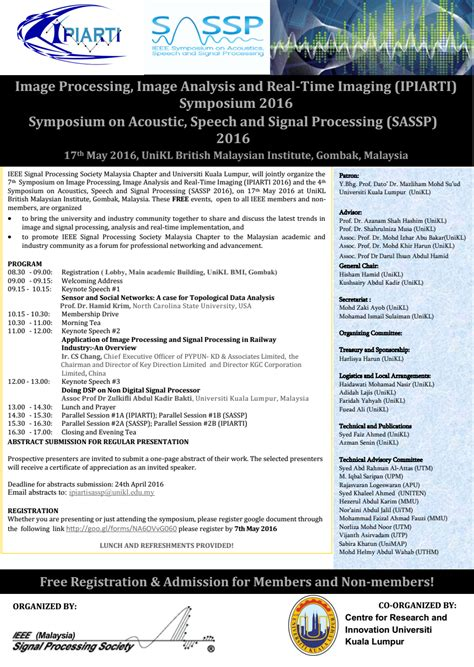 ieee malaysia section 7th symposium on image processing image analysis and real