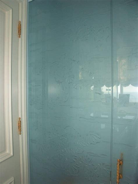 Etched Glass Water Closet Door Traditional Bathroom Water Closet Door