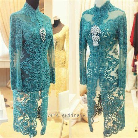 Baju Nikah Vera Kebaya tosca by house of vera of kebaya kebaya baju kurung and brokat