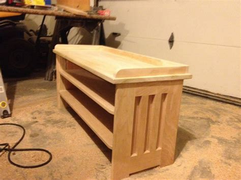 building a shoe rack bench pdf diy plans a shoe rack bench download plan chest coffee