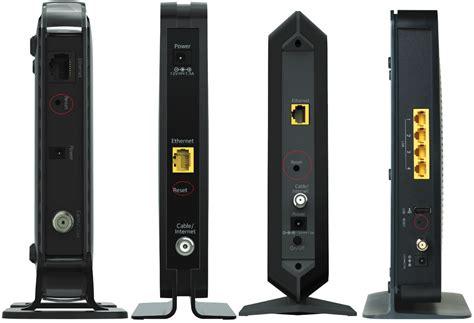 factory reset netgear routers  wireless modems