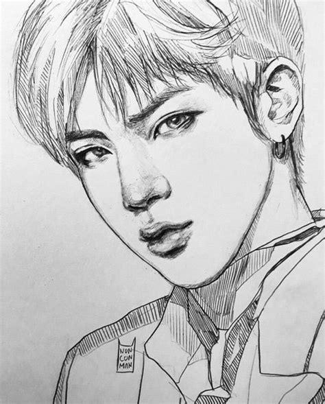 Jhope Drawing Easy by поиск новостей 千卂几卂尺ㄒ Bts Fanart And Kpop