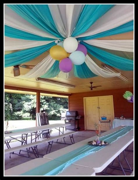 10 simple and cheap party decoration ideas cheap decoration ideas plastic table clothes balloons