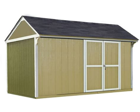 Storage Sheds For Less by Handy Home Products Prefab Wood Storage Sheds Buildings