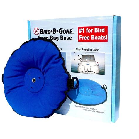 bird b gone for boats bird b gone bird spider 360 and repeller 360 sandbag boat