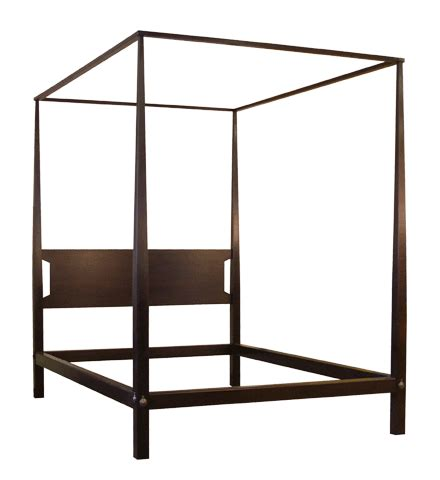 modern four poster bed contemporary beds tapered posts tapered tall post bed