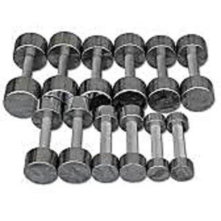 Dumble Fitnes Steel Exercise Dumble 15kgx2 At Best Prices Shopclues