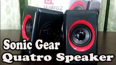 Speaker Quatro V sonic gear quatro 2 speaker unboxing and review pinoytube