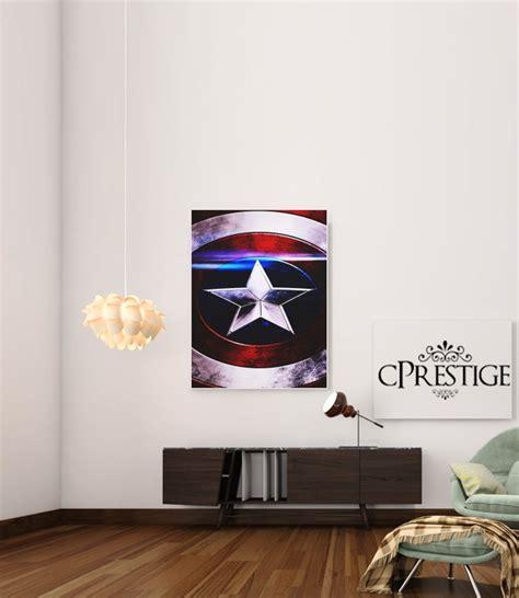 Captain America X2665 Samsung Galaxy A5 2017 Print 3d captain america shield poster adhesivas 30 40 cm