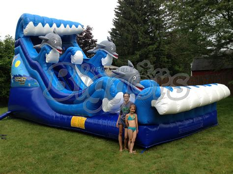 water slide backyard inflatable 2015 new hot inflatable pool water slide outdoor toys high