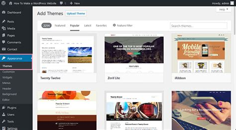 break your wordpress theme menus free from their how to create wordpress website from scratch in 8 steps