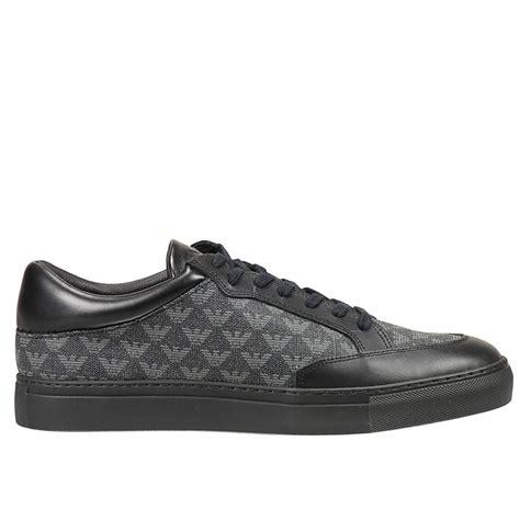armani sneakers mens emporio armani giorgio armani s sneakers in black for