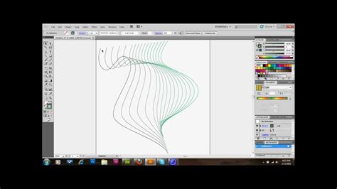Tutorial Illustrator Lines | graphic lines pattern adobe illustrator tutorial