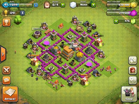 strong defense base th6 my th6 successfully defended all 5 attacks during our