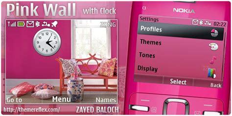 love themes for nokia x2 01 nokia c3 pink themes themereflex