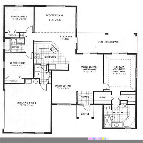 draw a floor plan draw house floor plans free