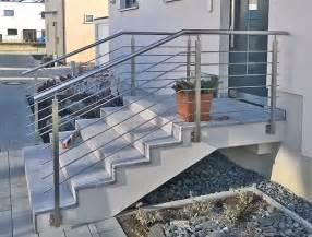 edelstahlgelã nder treppe edelstahl gel 228 nder solide modern und zeitlos