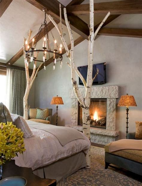 tree bedroom decor 12 ways to use actual birch trees in your home