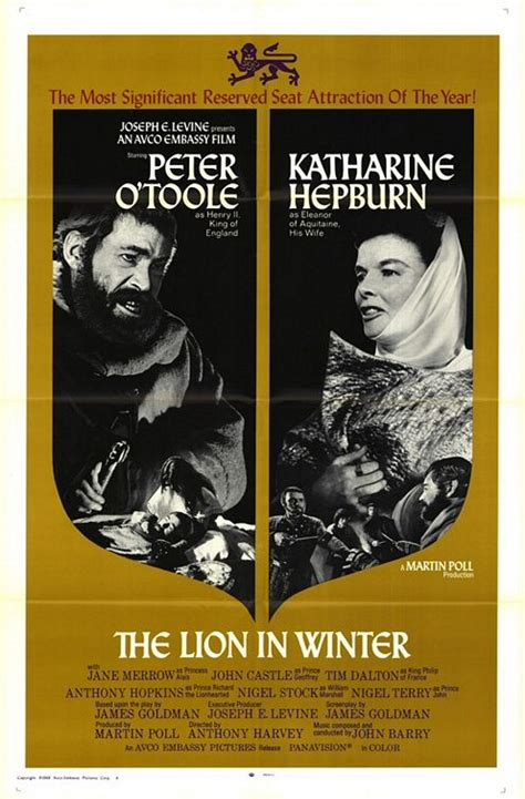film the lion in winter the movie man the lion in winter 1968 189