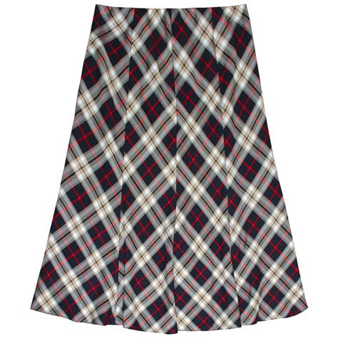 tartan midi flare skirt womens tartan flared skater skirts midi length