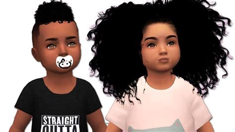 sims 4 black people hair toddler cc shopping urban ethnic the sims 4 youtube