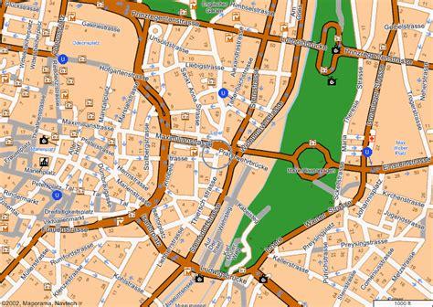 munich map maps of munich