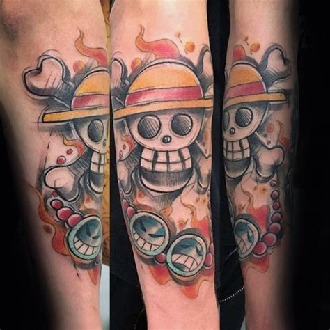 one piece tattoo designs 70 one designs for japanese anime ink ideas