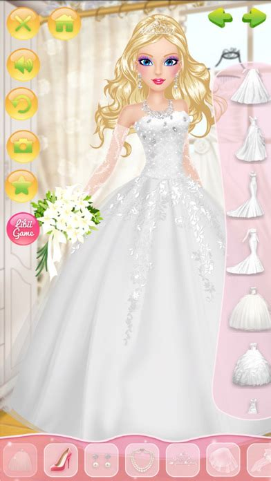 Wedding Dress Up And Makeover by Wedding Salon Makeup Dressup And Makeover App