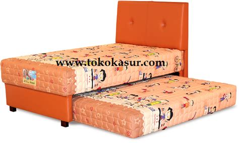 Bed 2 In 1 Happy 90x200 Cm Hb Creative Guhdo guhdo sorong kasur 2in1 guhdo gudho happy ranjang laci anak