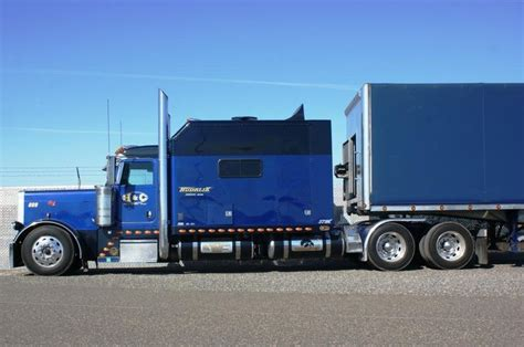 Peterbilt Custom Sleeper by Peterbilt With Custom Sleeper Gotta Them Big Rigs
