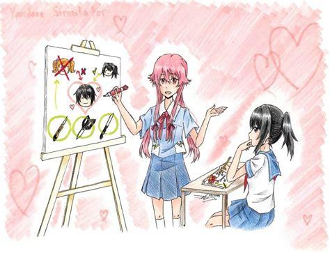 future diary future diary x yandere simulator anime xd