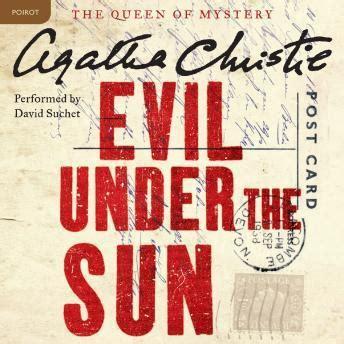 evil under the sun 0007274556 listen to evil under the sun a hercule poirot mystery by