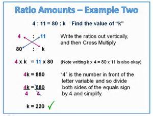 finding ratio amounts of proportions passy s world of
