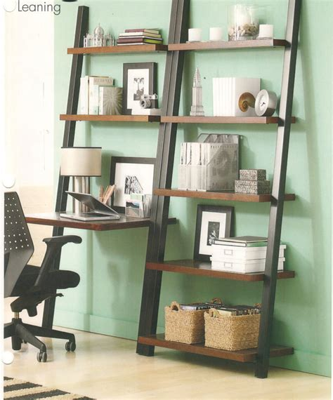 Leaning Bookcase With Desk by Leaning Bookcase And Desk Leaning Bookcase Dzuls Interiors