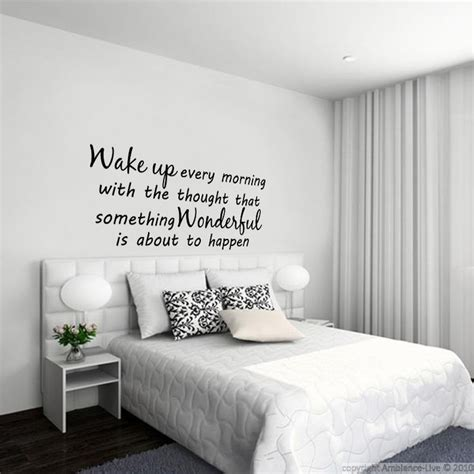 stickers muraux citations chambre 1000 id 233 es sur le th 232 me t 234 te de lit autocollant sur