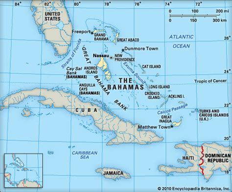 map of florida to bahamas bahamas the encyclopedia children s homework