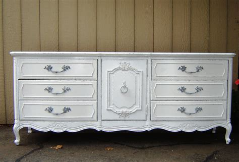fabulous vintage white shabby chic dresser buffet sideboard