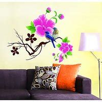 Wallsticker Wall Stiker 50x70 Am7106 Pink Flower Ii 1 buy wall tola at low prices in india shopclues