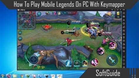 mobile legends pc how to play mobile legends on pc with keymapper using