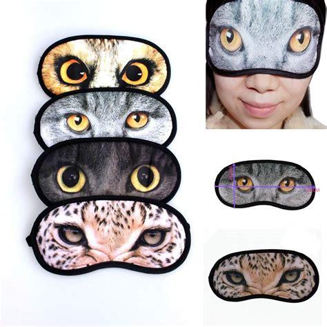 Masker Penutup Mata Motif Gel Animal masque de repos pour les yeux masques pour les yeux masque de nuit masque de repos masque yeux