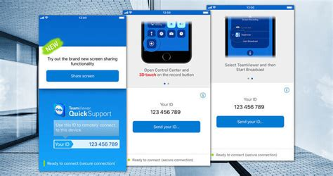 teamviewer mobile app provide remote support for ios mobile devices teamviewer