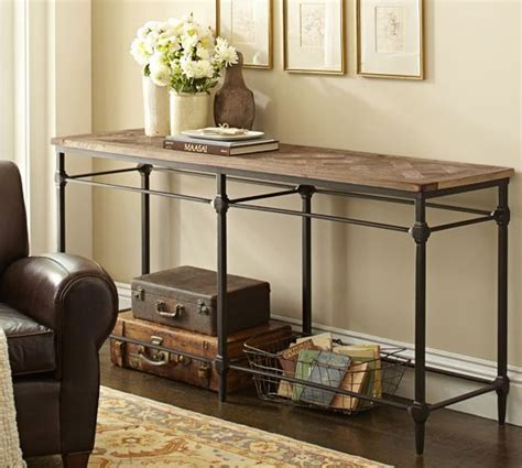 Pottery Barn Entry Table by Parquet Console Table Pottery Barn Home Decor
