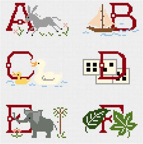 lettere dell alfabeto a punto croce 10 schemi di alfabeto a punto croce parte prima arte