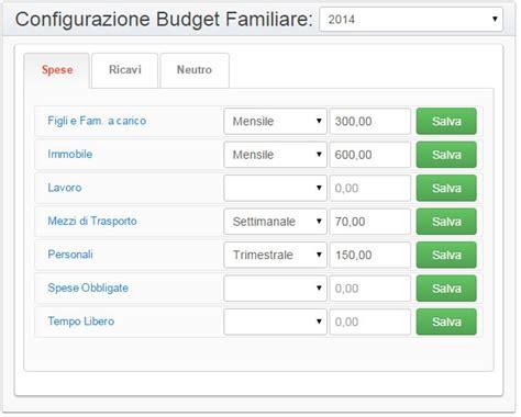 gestione casa bilancio familiare gratis programma di contabilit 224